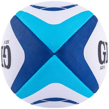 Gilbert Rugby Ball - Atom - Blue